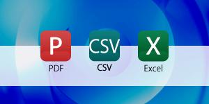 読影結果はPDFとCSVかExcelデータでご報告